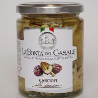 artisjok in olijfolie