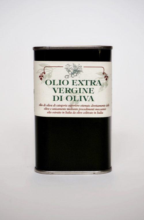 olijfolie extra vierge blik 0,25 ltr
