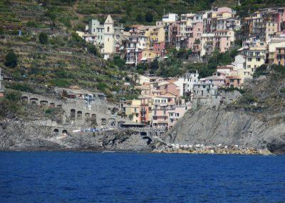 Cinque terre kustlijn Corniglia