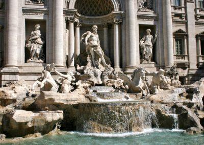 Rome Trevi fontein (2)