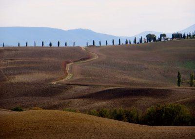 Toscane Pienza omgeving