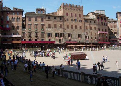 Toscane Siena Piazza Il Campo
