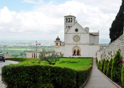 Umbrië Assisi Basilica Superiore di San Francesco