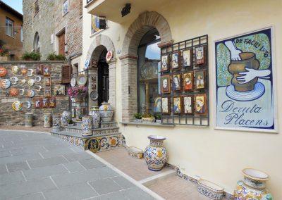 Umbrië Deruta, keramiek