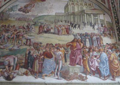 Umbrië Orvieto Duomo Brizio kapel